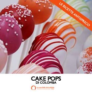 Cake Pops di colomba